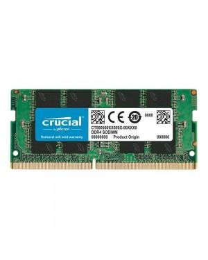 رم کروشیال لپ تاپ 8 گیگابایت تک ماژول DDR4 CL17 باس 2400