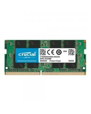رم لپ تاپ کروشیال 8 گیگابایت تک ماژول DDR4 CL17 باس 2400