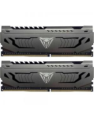 رم پاتریوت 32 گیگابایت دو کانال DDR4 CL18 باس 3600 مدل Viper Steel