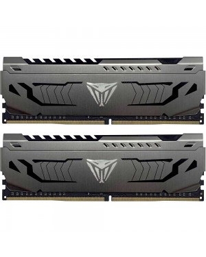 رم پاتریوت 64 گیگابایت دو کانال DDR4 CL18 باس 3600 مدل Viper Steel