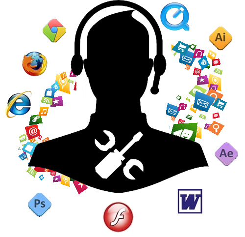 یکسال خدمات رایگان نصب ویندوز و نرم افزار عمومی و تخصصی